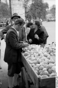 München, Verkauf von Zitronen